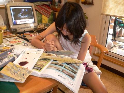 娘の作品づくり(その4・おわり) 授業について考える_b0068572_20285924.jpg