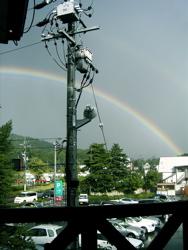 虹にはしゃぐ。_d0028589_2348997.jpg