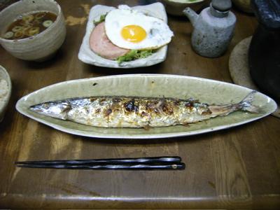 秋刀魚がピッタリ_e0046128_186113.jpg