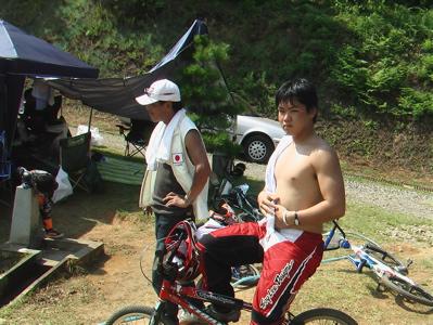 全日本BMX選手権大会in上越金谷山VOL4人間ウオチング_b0065730_21255456.jpg
