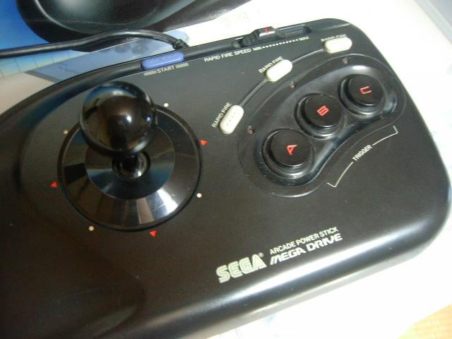 【レビュー】SEGA ARCADE POWER STICK_c0004568_21404751.jpg