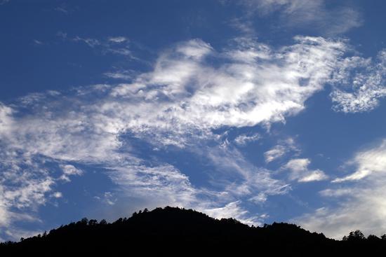 木曽谷の夕焼け_c0054876_210502.jpg