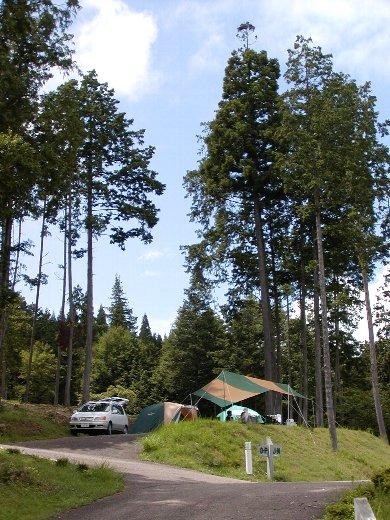 マイ・キャンプサイト in 椛の湖_c0057390_2291484.jpg