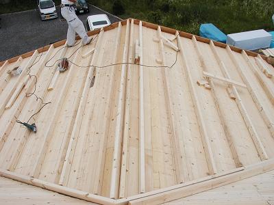 屋根工事に入りました。_d0059949_15173034.jpg