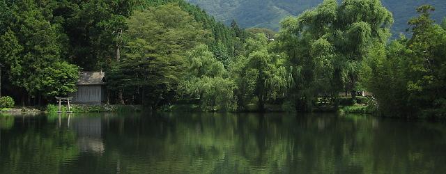 残夏の湯布院・・・金鱗湖_c0001578_2202322.jpg