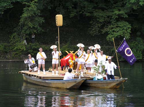 嵐山 船渡御_e0048413_1795535.jpg