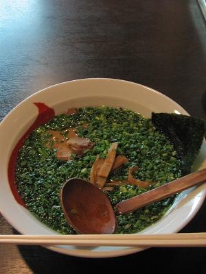 塩っ辛さの醤油とんこつスープ・・・一代元「とんこつラーメン」_c0001578_23534994.jpg