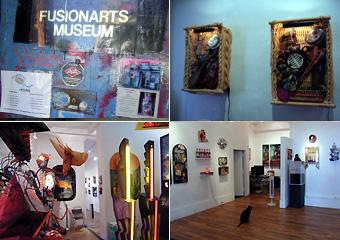 猫の住むギャラリー Fusion Arts Museum_b0007805_1163068.jpg