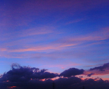 ●膨大なブラジル各地での写真・・・今日の夕空☆なんて星?_b0032617_1944577.jpg