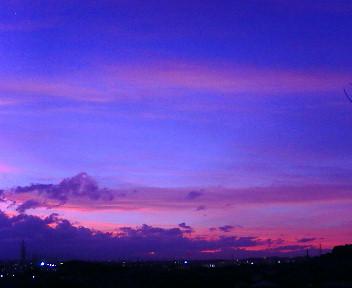 ●膨大なブラジル各地での写真・・・今日の夕空☆なんて星?_b0032617_19484144.jpg