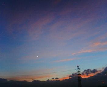 ●膨大なブラジル各地での写真・・・今日の夕空☆なんて星?_b0032617_19562067.jpg