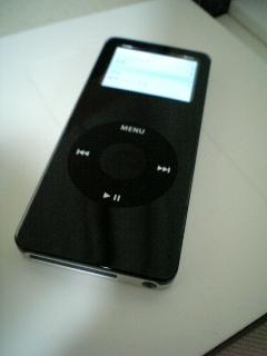 iPod nano?!・・・反則だよ・・・やっちゃった。_a0006744_20384267.jpg