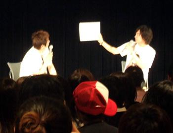 鈴木達央、2ndシングル『VOICE』発売記念イベント、ファイナルを東京アニメーション学院で実施!!_e0025035_1255810.jpg