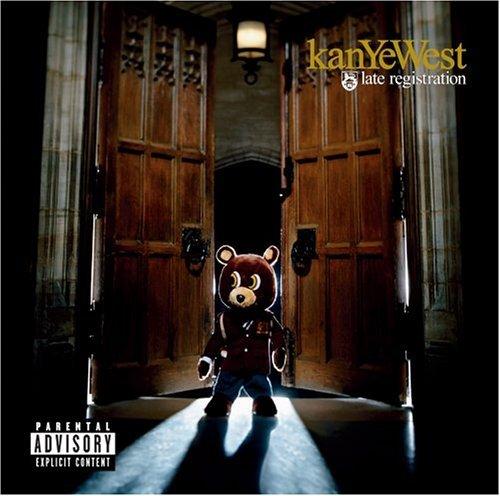 "Kanye West \""Late Registration\"" ビルボード・アルバムチャート初登場1位(9/17付)_d0066343_200332.jpg"