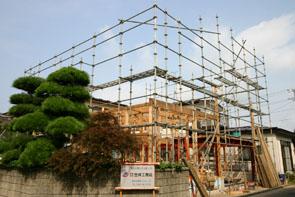 栄町の家の軸組 01_e0054299_1054529.jpg