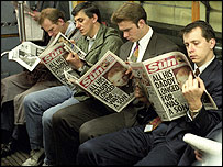 20年後の新聞は? BBCオンラインより (+デイリーテレグラフの現況)_c0016826_1626070.jpg