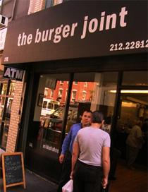 $1ハンバーガーのお店 - The Burger Joint_b0007805_911084.jpg