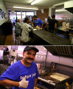 $1ハンバーガーのお店 - The Burger Joint_b0007805_912479.jpg