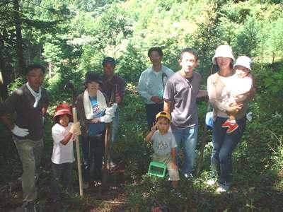 2005 秋の下草刈り_c0069972_16545486.jpg