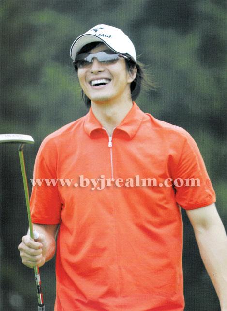 ヨン様と、ゴルフ_d0060693_207955.jpg