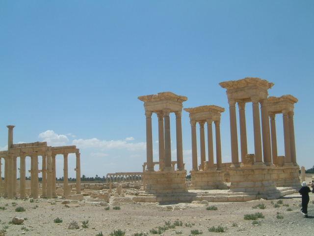 パルミラ遺跡 Palmyra (8)  完了編_c0011649_114914.jpg