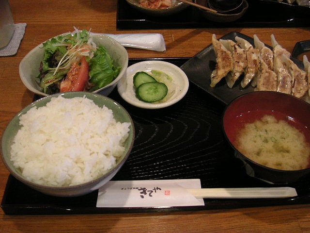 【北区】ぎょうざ菜館 きてや_d0068879_15521218.jpg