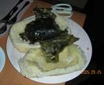 我が家のぶどうをメインにしたコース料理です。_d0026905_2083448.jpg