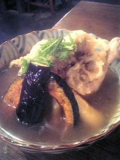 冷やし→天ぷら+カレー_c0033210_2174715.jpg