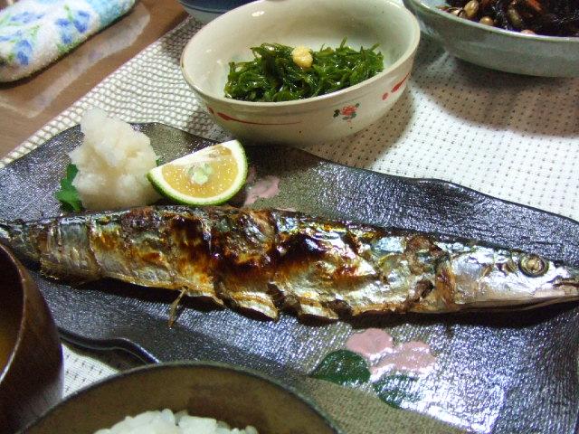 秋の刀の魚と書いてサンマと読む_e0012815_22453420.jpg