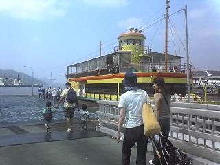 長崎港めぐり・遊覧船ゼリーフィッシュ_d0066127_13462938.jpg