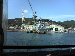長崎港めぐり・遊覧船ゼリーフィッシュ_d0066127_13522785.jpg