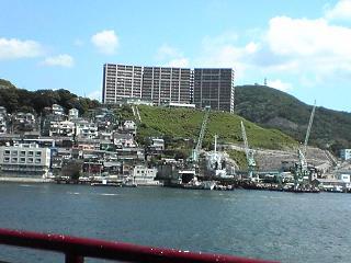 長崎港めぐり・遊覧船ゼリーフィッシュ_d0066127_14155721.jpg