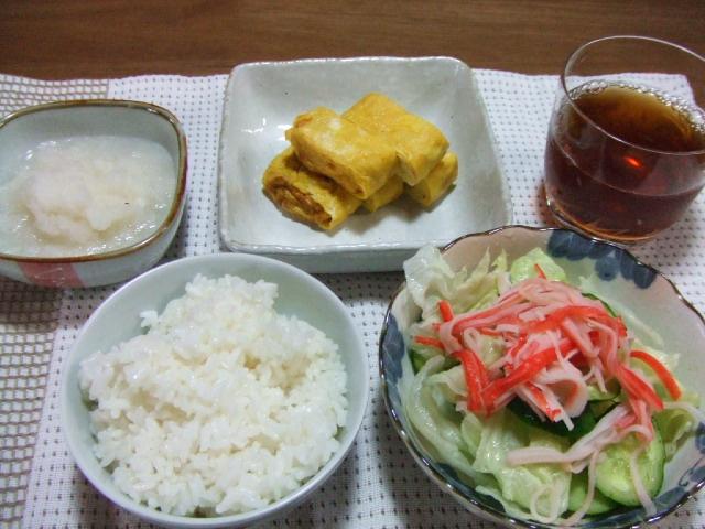 朝ごはんは卵二個分と滝沢村の花火_e0012815_21332554.jpg