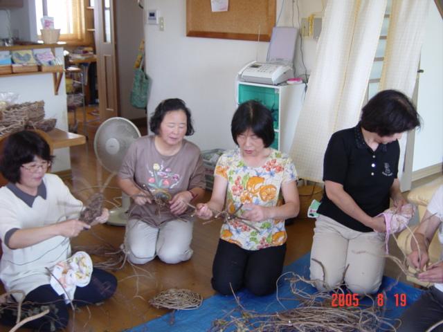 かずら編み教室_e0081959_115949.jpg