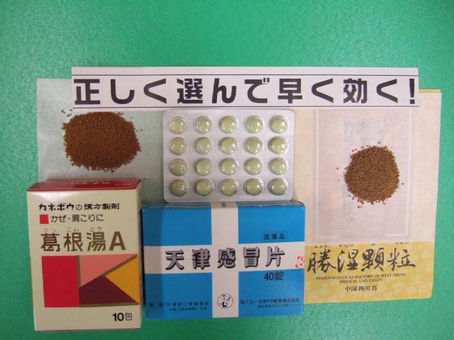 「風邪」かな?正しく選べば早く治る!!漢方風邪薬の選び方。_e0024094_22515389.jpg