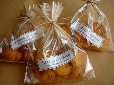 おめかししたレモンクッキー♪_e0042839_11123922.jpg
