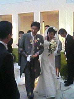 崎ちゃん&きよかさん ご結婚おめでとうヽ(´▽`)/_a0033733_1741057.jpg
