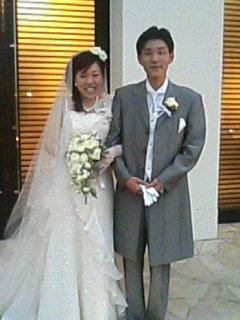 崎ちゃん&きよかさん ご結婚おめでとうヽ(´▽`)/_a0033733_17424620.jpg