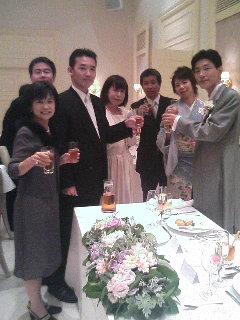 崎ちゃん&きよかさん ご結婚おめでとうヽ(´▽`)/_a0033733_17533451.jpg