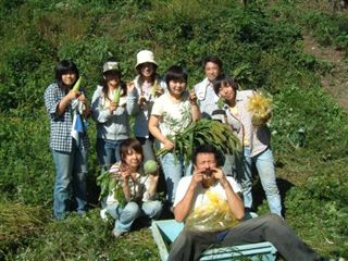池川の焼畑、蕎麦を収穫_e0002820_236490.jpg