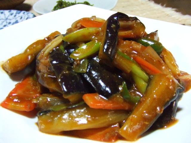マーボー茄子と肉豆腐_e0012815_21123892.jpg