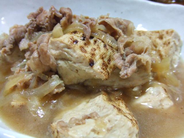 マーボー茄子と肉豆腐_e0012815_21264643.jpg