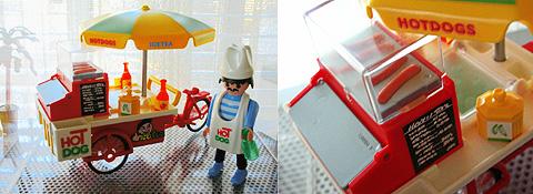 【Playmobil】  7781 ホットドッグスタンド_b0001545_17251967.jpg