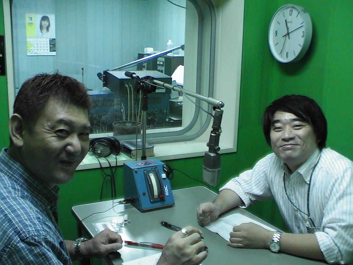 『気侭な旅人』こと小林兼人先生のラジオ収録!_d0012716_1975367.jpg