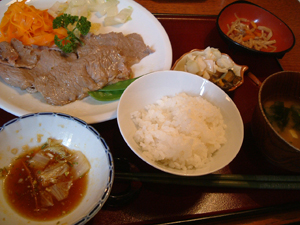 進路相談のついでに!日本食ランチ_c0016493_454468.jpg