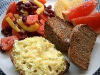 近頃の朝ご飯。_c0005672_19475456.jpg