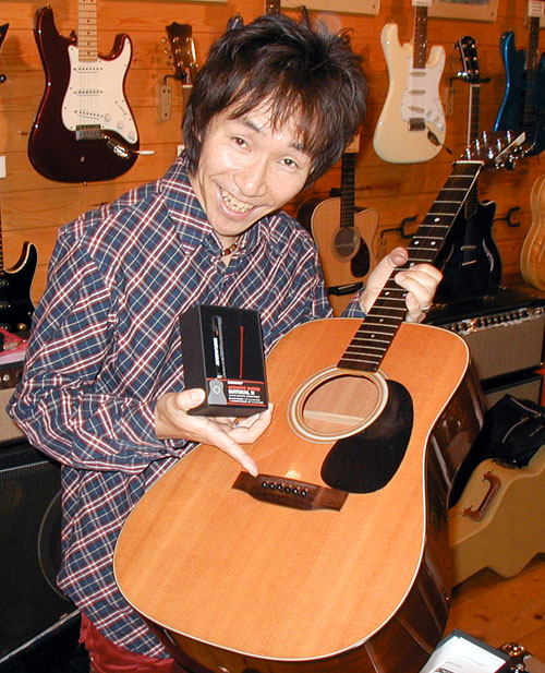 ギタリスト・林部さん御来店。_e0053731_17302282.jpg