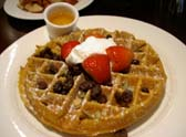 pampkin waffle