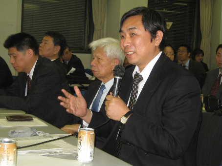 国務院僑務辧公室陳玉傑主任訪問日本 華僑華人代表と座談_d0027795_20531269.jpg
