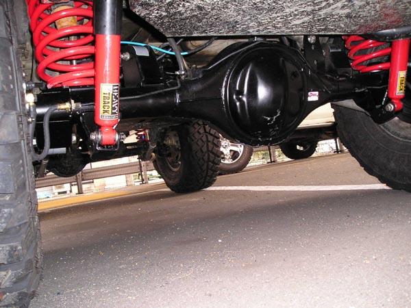 11月11日TJラングラーにフォード9インチを装着しました。_d0001708_16311977.jpg